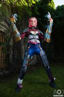 Vi cosplay by ThelemaTherion