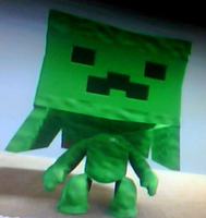 creeper from minecraft in LBP by saltycuccumbers