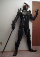 Metal Gear Rising Raiden wip5 by effektdmentality