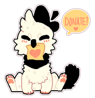 Donate Here by Smushey