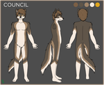 [commission] ref sheet: Council by VIcTobious