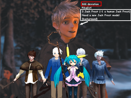 666 Deviation, PikaGirl, 3 Jack Frost (+1) and... by JackFrost-LCDA