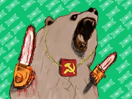 Frederick The Bear of The Motherland by LawrenceF