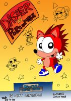 Dasher the Porcupine by JimmyCartoonist