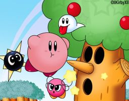 Kirby's Dreamland Cover REMAKE by Jdoesstuff