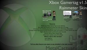 Xbox Gamertag Viewer v1.50 by MetalCactuar