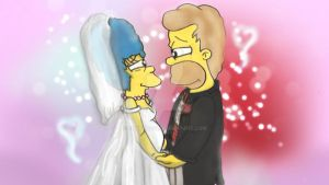 Homer and Marge - I Do by ChnProd22