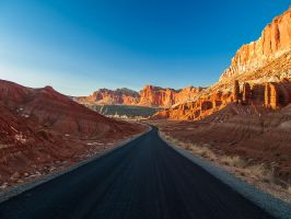 Capitol Reef: Scenic Drive II by j-ouroboros