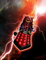 Dalek Skorn - Red Lantern by TrentTroop