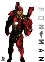 Iron Man by Omaiyee