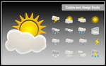 Beautiful Weather Icon Set by customicondesign