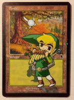Forest, Link playing panpipes Zelda Wind Waker by Didjam