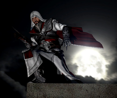 Time to hunt. - Ezio Auditore by Neros1990