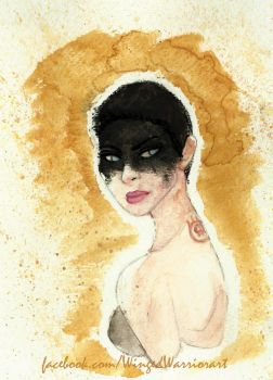 Furiosa Watercolor by Winged-warrior