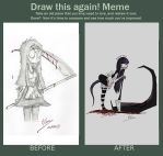 Draw this again - Monster Maid by MrVava63