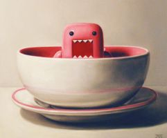Detail - Pink Domo by JessicaEdwards