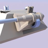 Turret render test by Arkanjel8