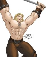 Sabretooth 2014 workout COLORED by LucasAckerman