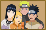 The Uzumaki family by airbender01