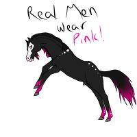 only real men wear pink! by jessp118