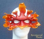 Autumn Greenman mask by Alyssa-Ravenwood
