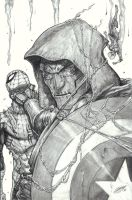 Spider-Man vs. Doctor Doom by DeanZachary