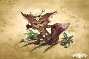 Gnar leopard - League of Legends by o0dzaka0o
