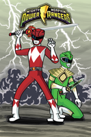 Mighty Morphin Power Rangers by MPaolillo