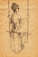 My Mother Was A Chinese Trapeze Artist by LindaJV