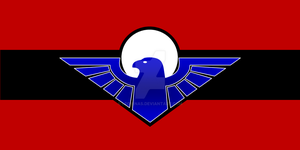 Sci-Fi: Jovian League Flag by Leovinas
