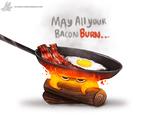 Daily Painting #950. Calcifer (FA) by Cryptid-Creations