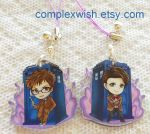 Reversible Doctor who charm by ComplexWish