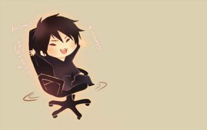 Izaya On Chair {GIF} by Madame--Black
