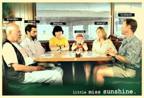 a little miss sunshine dinner. by Reanimated-Theories