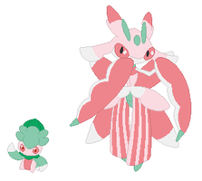 Fomantis and Lurantis Base