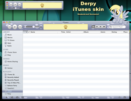 Derpy iTunes by rhubarb-leaf