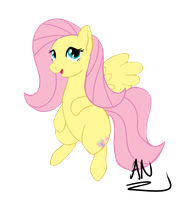 MLP: Fluttershy 2 by x6tr2ni