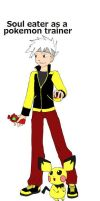 Soul Eater as a pokemon trainer by xogirlxo78