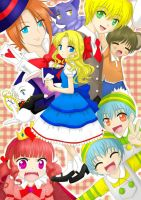 Alice in Wonderland by red-jello04