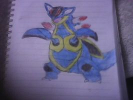 my drawings armaldo by piplupiloveyou