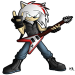 Sonar The Hedgehog by ShadowNinja976