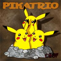 Pikatrio by HampsterDanceFanatic