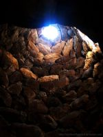 Inside a Nuraghe by StandsWithAPencil