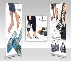 shoe channel roll up banner01 by shehbaz