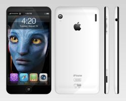 iPhone 4G Concept Design v2 by sandprince