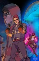 FaH- Delsin Rowe by ParisAlleyne