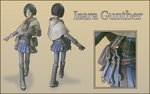 Isara Gunther Papercraft by 966623