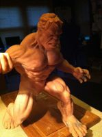 Hulk Sculpt Prototype I by StephaneRoux