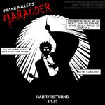 Frank Miller's Harry Potter by WolfmanX