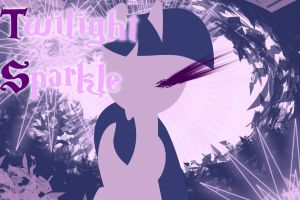 Twilight Sparkle Wallpaper by PinkieStealthiePie